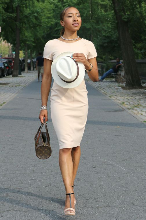 Click here for outfit details: https://thechiclush.com/2015/09/04/straw-hats-and-struts/