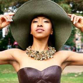 Click here for outfit details: https://thechiclush.com/2015/09/05/fashion-hats-and-high-heads/