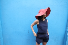 Romper and Hat from Club Monaco