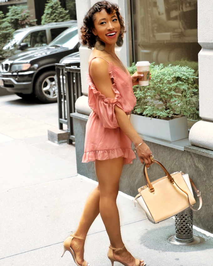 Fashion: Pink Romper